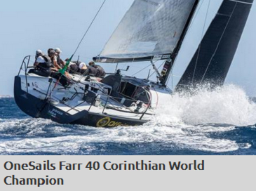 Onesails Farr 40 corinthian world champion